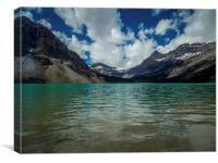 Peyto Lake Rocky Mountains Alberta Canada, Canvas Print