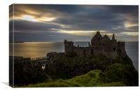Sea View Dunluce Castle Antrim, Ireland, Canvas Print