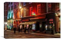 Ronnie Scotts Jazz Club, London, Canvas Print