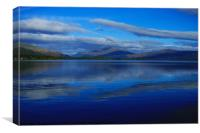 Loch and Mountain, Canvas Print
