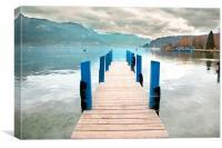 Lake Annecy, Canvas Print