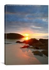 Achmelvich Beach, Sutherland, Scotland, Canvas Print