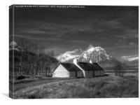 Blackrock Cottage, Glencoe, Scotland, Canvas Print