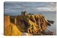 Dunnottar Castle, Stonehaven, Scotland., Canvas Print