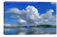 Canna Bay, Isle of Canna, Scotland, Canvas Print