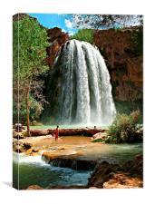 Havasu Falls, Canvas Print