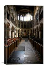 Church of St Bartholomew the Great, Canvas Print