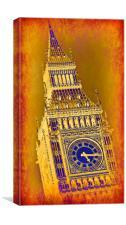 Big Ben No.3, Canvas Print