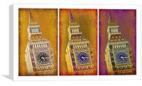 Big Ben Triptych 2, Canvas Print