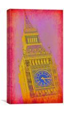 Big Ben 10, Canvas Print
