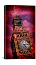 Big Ben 13, Canvas Print