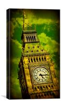 Big Ben 15, Canvas Print