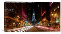 Philadelphia Nights, Canvas Print