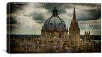 Oxford Spires, Canvas Print