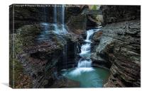 Rainbow Falls, Canvas Print