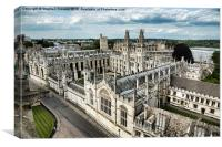 All Souls College - Oxford University, Canvas Print
