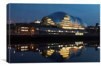 Sage Gateshead, Canvas Print