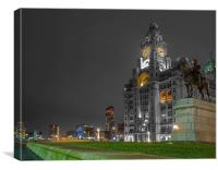 LIVER BUILDING, Canvas Print