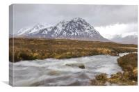 The Great Herdsman of Etive, Canvas Print