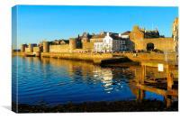 Evening Idyll in Caernarfon, Canvas Print