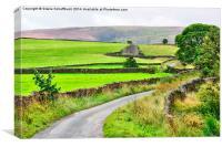Yorkshire Scenery, Canvas Print