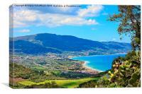Beautiful Sicily, Canvas Print