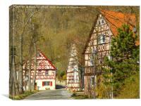 Hautschenmuehle (Hautschen Mill), Canvas Print