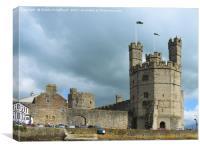 Caernarfon, Canvas Print