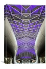 Kings Cross Station Abstract, Canvas Print
