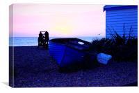The Brighton Boat, Canvas Print