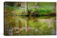 Pastel Reflections, Canvas Print
