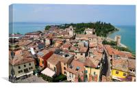 Sirmione Lake Garda Italy, Canvas Print
