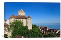 Meersburg Castle Lake Constance Germany, Canvas Print