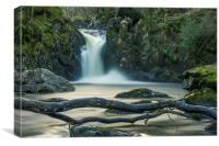 Scottish Waterfall, Canvas Print