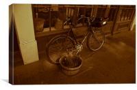 Old Bike, Canvas Print