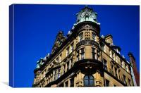 Newcastle Architecture, Canvas Print