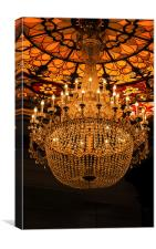 The Chandelier, Canvas Print
