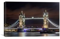 The Towering Bridge, Canvas Print