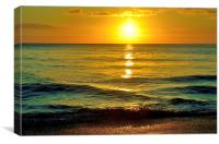 Gentle Seas, Canvas Print