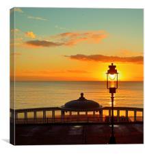 Sunfilled Lantern, Canvas Print