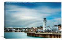 Scarborough Lighthouse, Canvas Print