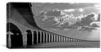 Pont Ile de Ré, France, Canvas Print