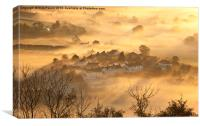 Dawn Mist, Canvas Print