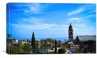Genova, Nervi, Canvas Print