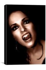 British Gothic #2: The Vampire, Canvas Print
