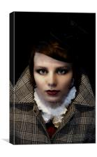British Gothic #4: The Sleuth, Canvas Print