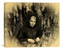 British Gothic #5: The Babe In The Wood, Canvas Print