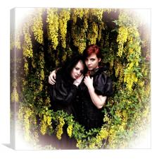 British Gothic #7: The Babes In The Wood, Canvas Print