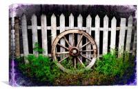 Wagon Wheel, Canvas Print