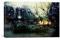 Raindrops, Canvas Print